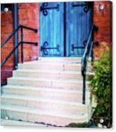 St. John's Door Acrylic Print