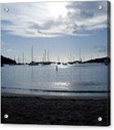 St. Johns Island Sunset Acrylic Print