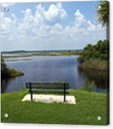St Johns River In Florida Acrylic Print