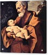 St Joseph Acrylic Print