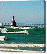 St. Joseph River Lighthouse Acrylic Print