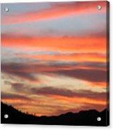 St. Joseph's Sunset Acrylic Print