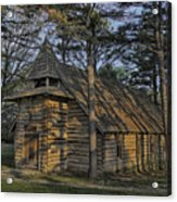 St Jude Chapel Montauk Mo Color Dsc02599 Acrylic Print