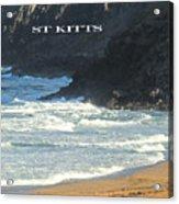 St Kitts Poster Acrylic Print
