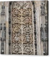 St. Lamberti Church - Stone Relief Acrylic Print