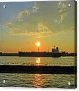 St Lawrence Sunset 3 Acrylic Print
