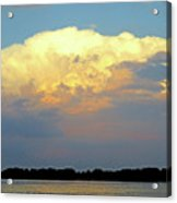 St Lawrence Sunset 4 Acrylic Print