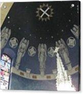St Leo Angels Acrylic Print