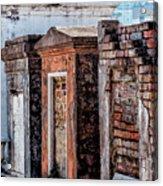 St. Louis 1 Tombs--nola Acrylic Print
