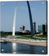 St Louis Arch Acrylic Print