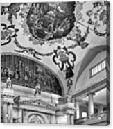 St. Louis Cathedral 2 Monochrome Acrylic Print
