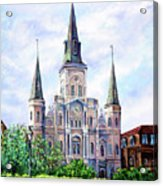 St. Louis Cathedral Acrylic Print