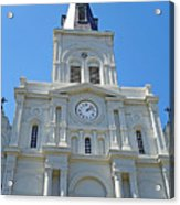 St. Louis Cathedral Study 1 Acrylic Print