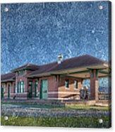 St Louis Iron Mountain Depot Acrylic Print