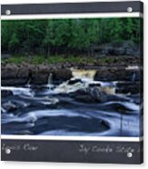 St Louis River Scrapbook Page 1 Acrylic Print