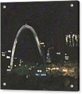 St. Louis Riverfront 1 Acrylic Print