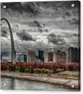 St Louis Riverfront Acrylic Print