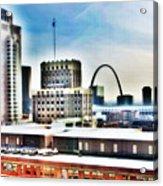 St Louis Skyline Acrylic Print