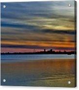 St Louis Sunset Acrylic Print