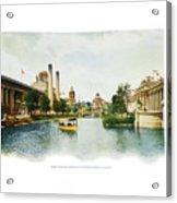 St. Louis World's Fair East Lagoon Acrylic Print