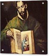 St Luke Acrylic Print