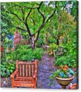 St. Luke Garden Sanctuary Acrylic Print