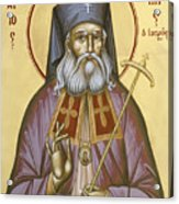 St Luke The Surgeon Of Simferopol Acrylic Print by Julia Bridget Hayes