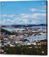 St. Maarten Landscape Acrylic Print