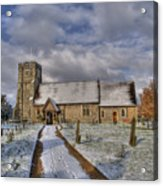 St Margarets Church Ridge Hertfordshire Acrylic Print
