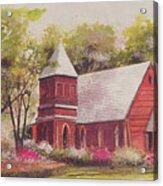 St. Mary's Chapel Acrylic Print