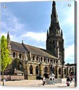 St Mary's Church At Lichfield Acrylic Print
