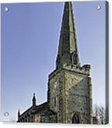 St Mary's Church At Uttoxeter Acrylic Print