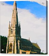 St Mary's Church, Studley Royal  Acrylic Print