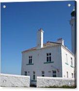 St. Mary's Island And The Lighthouse. Acrylic Print
