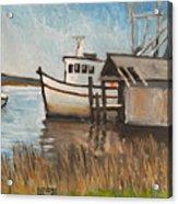 St Mary's Shrimp Boat  Acrylic Print