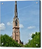 St. Matthew's German Evangelical Lutheran Church In Charleston Acrylic Print