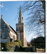 St Michael And All Angels Church -- Little Bredy Acrylic Print