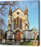 St Michael And St George R.c Church - Lyme Regis Acrylic Print