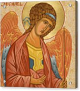 St. Michael Archangel - Jcami Acrylic Print