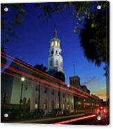 St. Michael's Episcopal Church In Charleston, South Carolina Acrylic Print