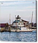 St Michael's Maryland Lighthouse Acrylic Print