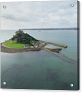 St Michaels Mount Aerial Acrylic Print