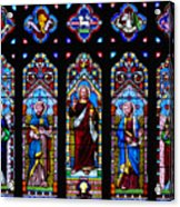 St. Michael's Parish Stained Glass Acrylic Print