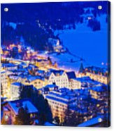 St. Moritz Acrylic Print