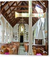 St Mylor Altar Cross Acrylic Print
