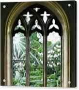 St Nicholas And St Magnus Church Window - Impressions Acrylic Print