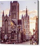St. Nicholas Church, Gent Acrylic Print