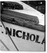 St. Nicholas Acrylic Print