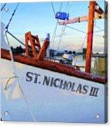 St. Nicholas IIi Acrylic Print