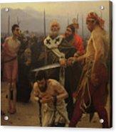 St. Nicholas Saves Three Innocents from Death Acrylic Print